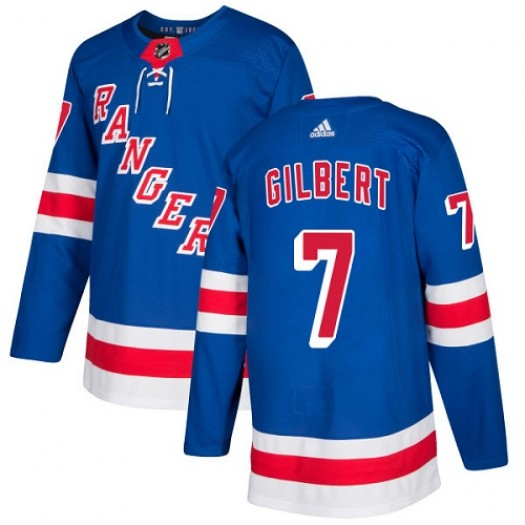 Rod Gilbert New York Rangers Youth Adidas Authentic Royal Blue Home Jersey