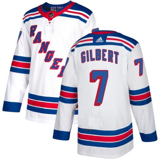 Rod Gilbert New York Rangers Youth Adidas Authentic White Away Jersey