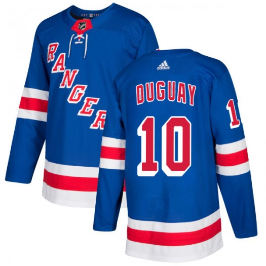 Ron Duguay New York Rangers Men's Adidas Authentic Royal Jersey