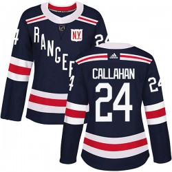Ryan Callahan New York Rangers Women's Adidas Authentic Navy Blue 2018 Winter Classic Home Jersey
