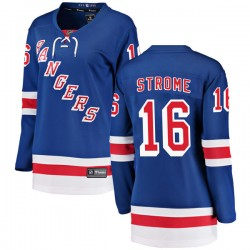 Ryan Strome New York Rangers Women's Fanatics Branded Blue Breakaway Home Jersey