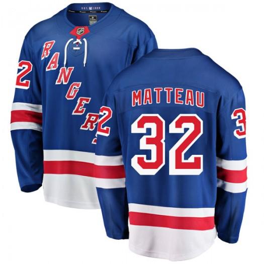Stephane Matteau New York Rangers Youth Fanatics Branded Blue Breakaway Home Jersey