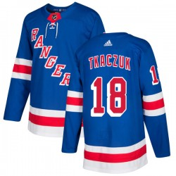 Walt Tkaczuk New York Rangers Men's Adidas Authentic Royal Jersey