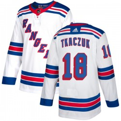 Walt Tkaczuk New York Rangers Men's Adidas Authentic White Jersey