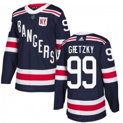 Wayne Gretzky New York Rangers Youth Adidas Authentic Navy Blue 2018 Winter Classic Home Jersey