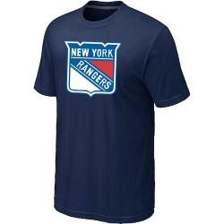 New York Rangers Men's Navy Big & Tall Logo T-Shirt