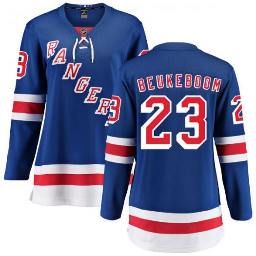 Jeff Beukeboom New York Rangers Women's Fanatics Branded Blue Home Breakaway Jersey