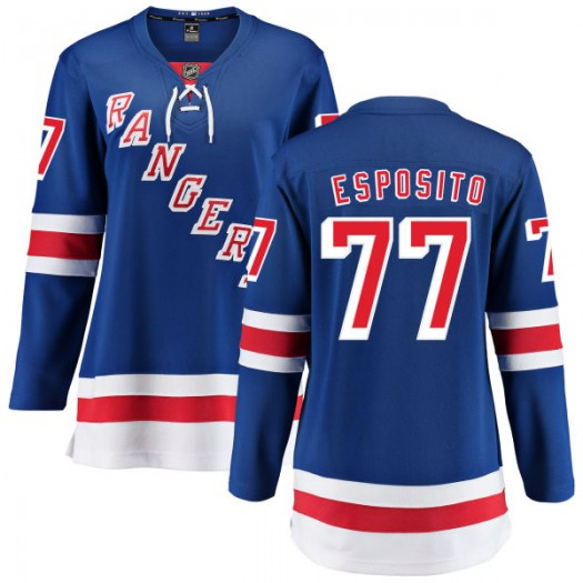 Phil Esposito New York Rangers Women's Fanatics Branded Blue Home Breakaway Jersey