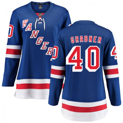 Michael Grabner New York Rangers Women's Fanatics Branded Blue Home Breakaway Jersey