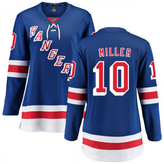 J.T. Miller New York Rangers Women's Fanatics Branded Blue Home Breakaway Jersey