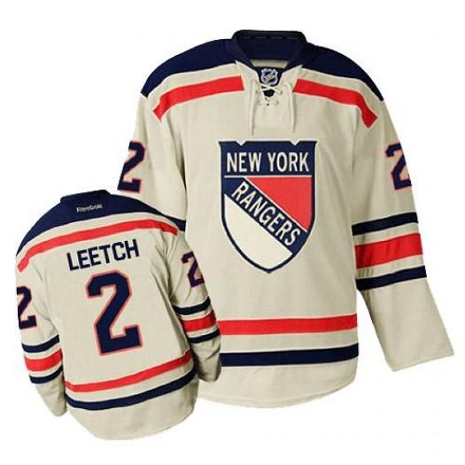 Brian Leetch New York Rangers Men's Reebok Premier Cream 2012 Winter Classic Jersey