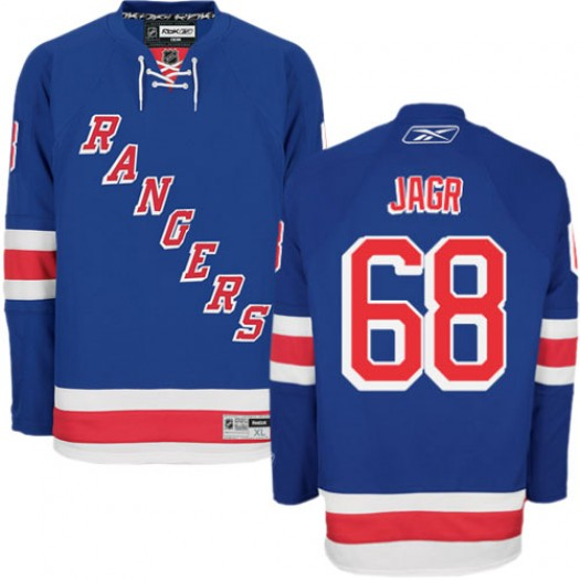 Jaromir Jagr New York Rangers Men's Reebok Authentic Royal Blue Home Jersey