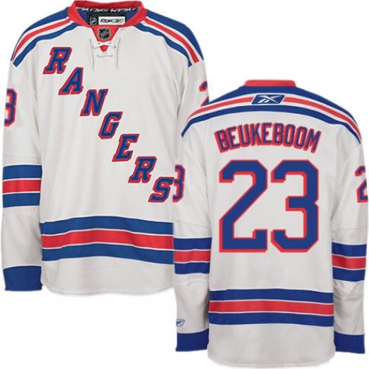 Jeff Beukeboom New York Rangers Men's Reebok Authentic White Away Jersey