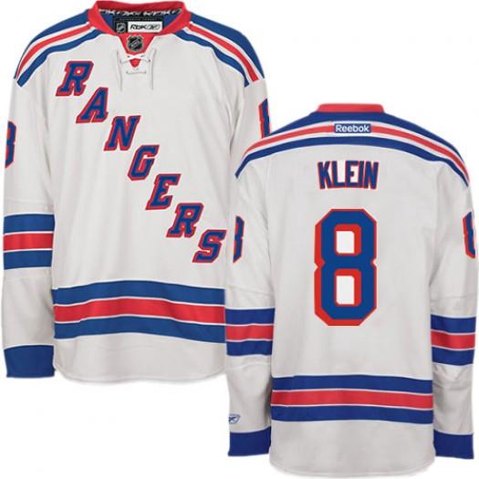 Kevin Klein New York Rangers Men's Reebok Authentic White Away Jersey