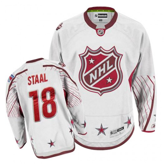 Marc Staal New York Rangers Men's Reebok Authentic White 2011 All Star Jersey