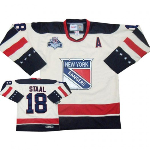 Marc Staal New York Rangers Men's Reebok Authentic White 2012 Winter Classic Jersey