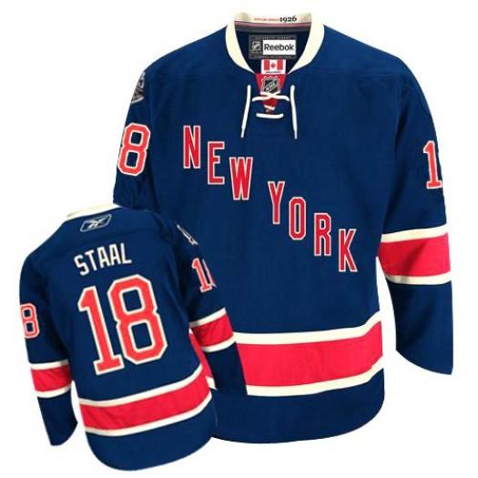 Marc Staal New York Rangers Men's Reebok Premier Navy Blue Third Jersey