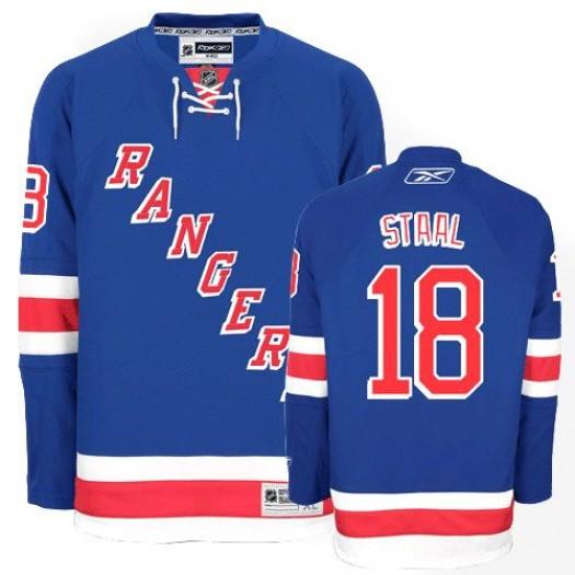 Marc Staal New York Rangers Men's Reebok Premier Royal Blue Home Jersey