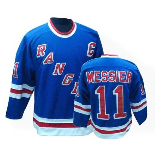 Mark Messier New York Rangers Men's CCM Premier Royal Blue Throwback Jersey
