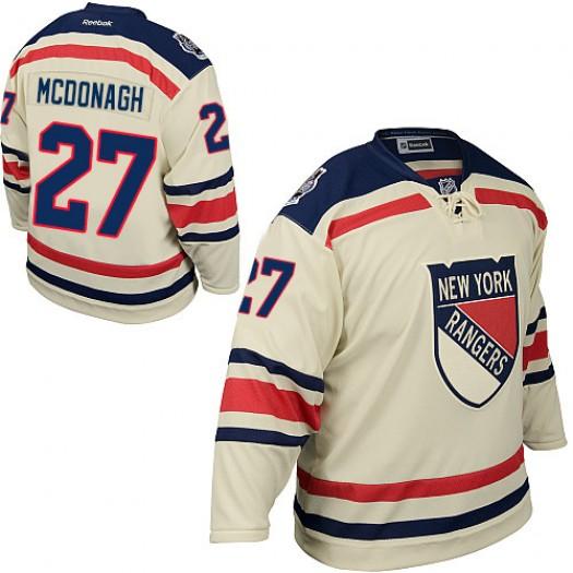 Ryan McDonagh New York Rangers Men's Reebok Authentic Cream 2012 Winter Classic Jersey