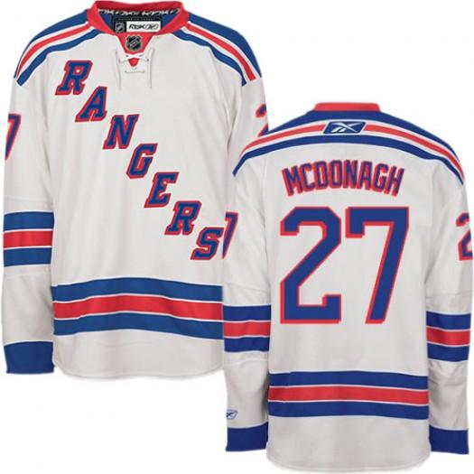 Ryan McDonagh New York Rangers Men's Reebok Premier White Away Jersey