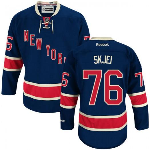 Brady Skjei New York Rangers Youth Reebok Replica Blue Alternate Jersey