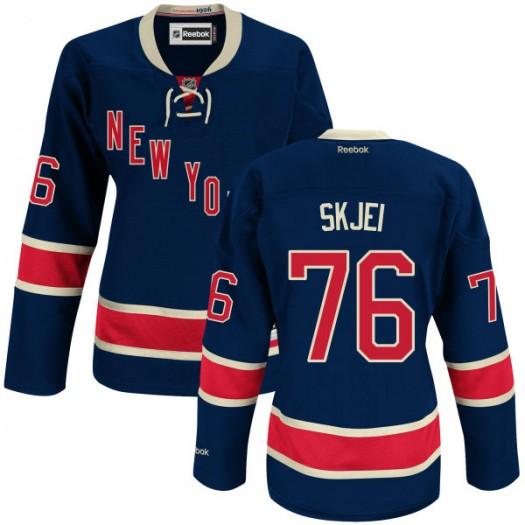 Brady Skjei New York Rangers Women's Reebok Premier Blue Alternate Jersey