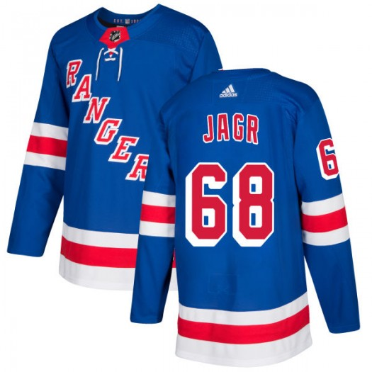 Jaromir Jagr New York Rangers Men's Adidas Authentic Royal Jersey