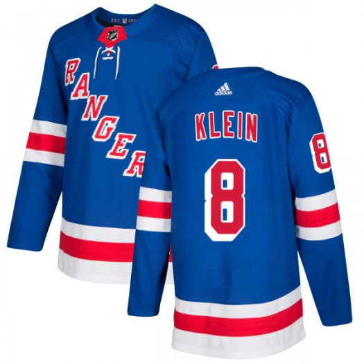 Kevin Klein New York Rangers Men's Adidas Authentic Royal Jersey