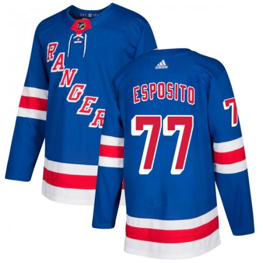 Phil Esposito New York Rangers Men's Adidas Authentic Royal Jersey