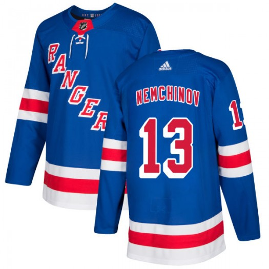 Sergei Nemchinov New York Rangers Men's Adidas Authentic Royal Jersey