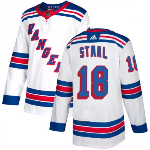 Marc Staal New York Rangers Men's Adidas Authentic White Jersey
