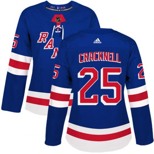 Brandon Pirri New York Rangers Men's Adidas Premier Royal Blue Home Jersey