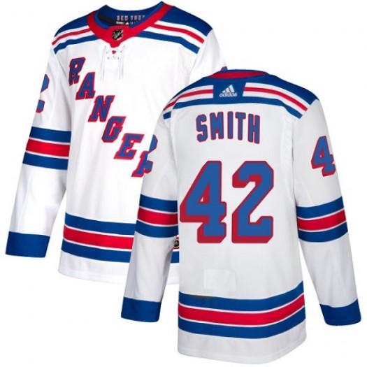 Brandon Pirri New York Rangers Women's Adidas Authentic White Away Jersey