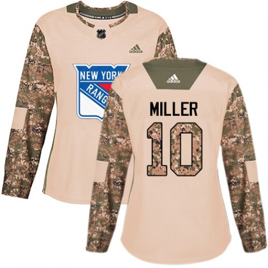 J.T. Miller New York Rangers Women's Adidas Premier White Away Jersey