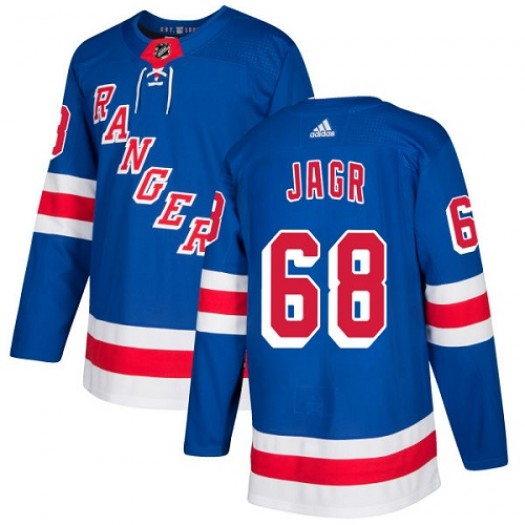 Jaromir Jagr New York Rangers Men's Adidas Premier Royal Blue Home Jersey