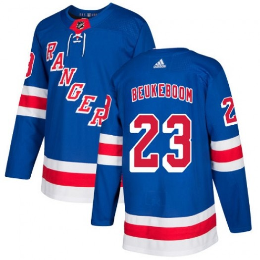 Jeff Beukeboom New York Rangers Men's Adidas Premier Royal Blue Home Jersey