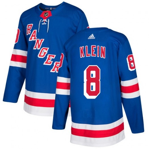 Kevin Klein New York Rangers Men's Adidas Premier Royal Blue Home Jersey