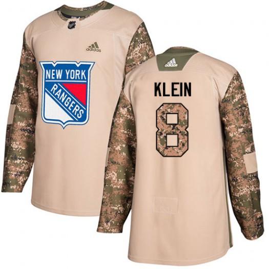 Kevin Klein New York Rangers Men's Adidas Premier White Away Jersey