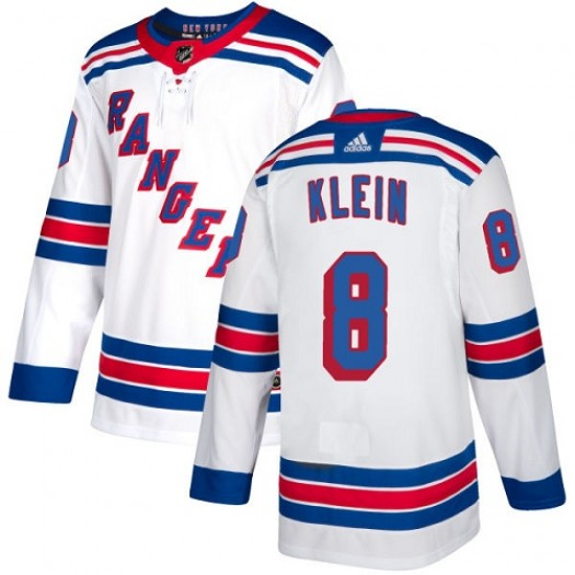 Kevin Klein New York Rangers Women's Adidas Authentic White Away Jersey