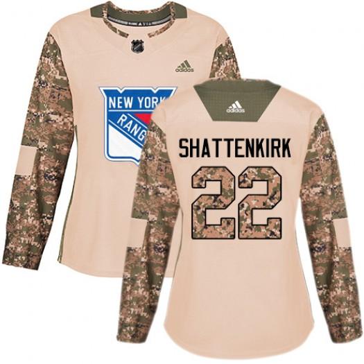 Kevin Shattenkirk New York Rangers Women's Adidas Premier White Away Jersey