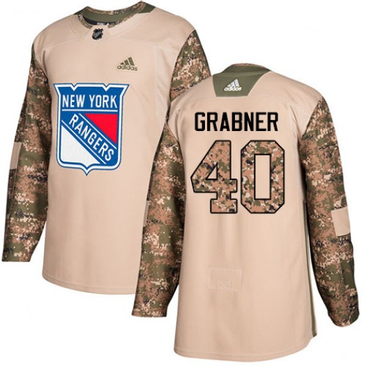 Michael Grabner New York Rangers Men's Adidas Premier White Away Jersey