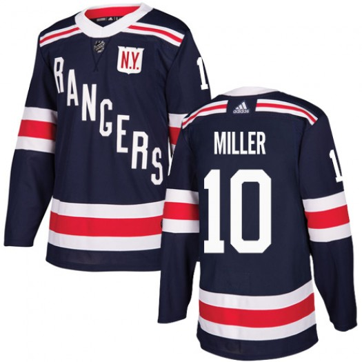 J.T. Miller New York Rangers Men's Adidas Authentic Navy Blue 2018 Winter Classic Jersey